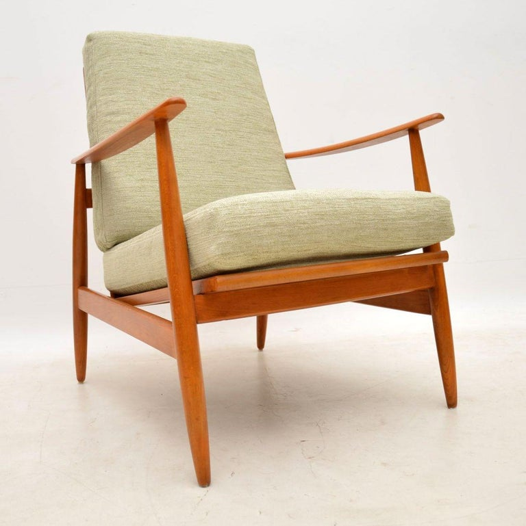 1960s Pair of Vintage Danish Armchairs For Sale at 1stdibs