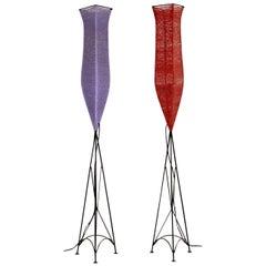 1960s Pair of Vintage Floor Lamps