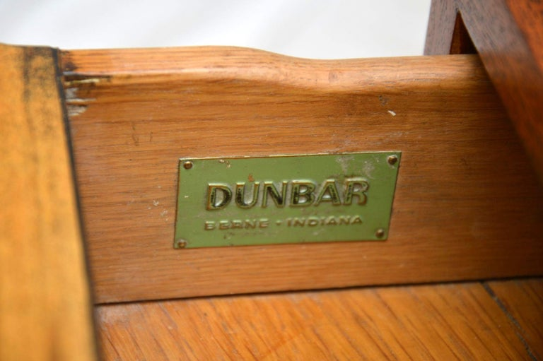 1960s Pair of Vintage Mahogany Chests by Edward Wormley for Dunbar For Sale 6