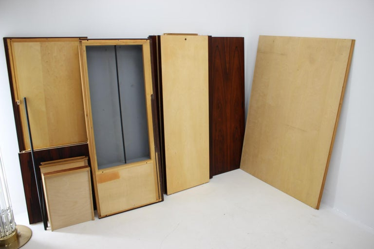 1960s Palisander Wardrobe, Denmark For Sale 5