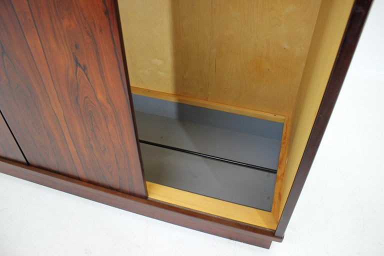 1960s Palisander Wardrobe, Denmark In Good Condition For Sale In Barcelona, ES