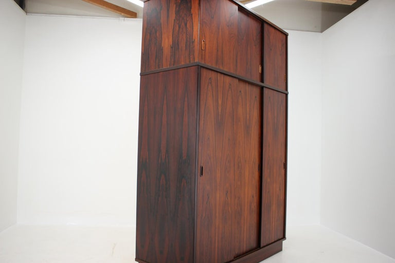 1960s Palisander Wardrobe, Denmark For Sale 2