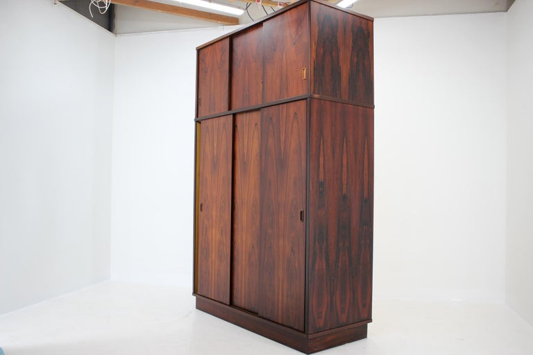 1960s Palisander Wardrobe, Denmark For Sale 3