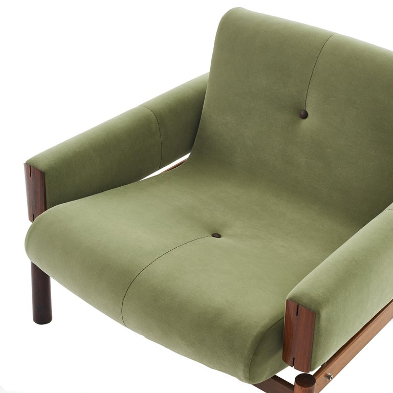 1960s Percival Lafer MP-13 Rosewood Lounge Chair Pair For Sale 5