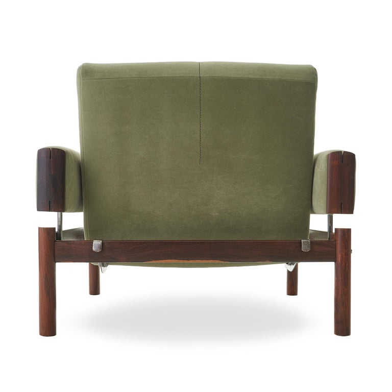 1960s Percival Lafer MP-13 Rosewood Lounge Chair Pair For Sale 1