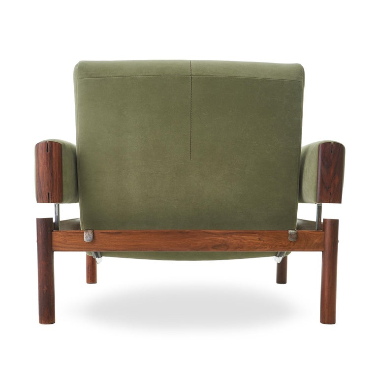 1960s Percival Lafer MP-13 Rosewood Lounge Chair Pair For Sale 2