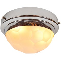 1960s Pia Guidetti Crippa Multifaceted Wall or Ceiling Light for Lumi