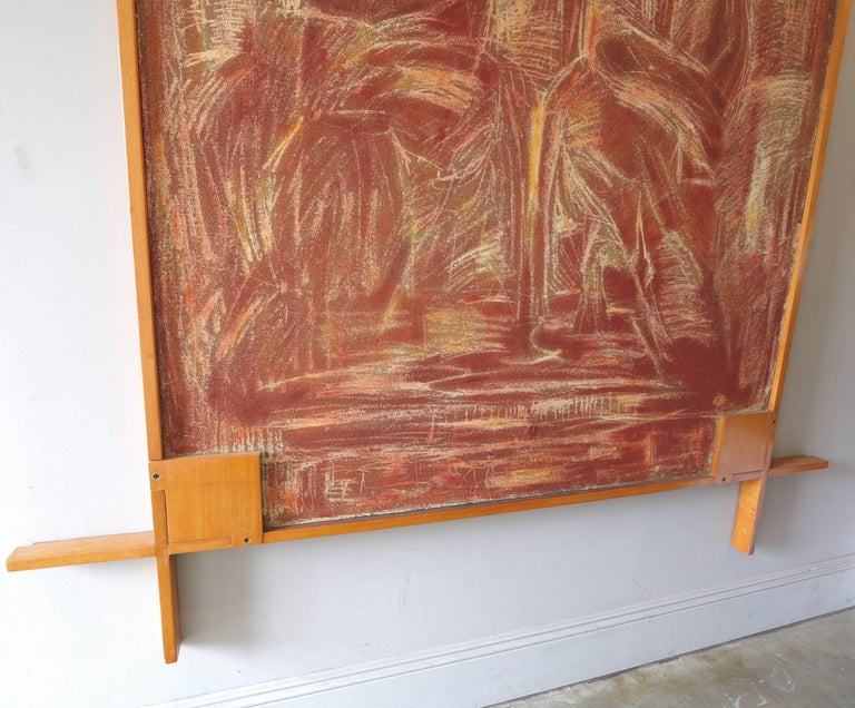 1960s Picture Frame by Ico Parisi In Good Condition For Sale In Los Angeles, CA