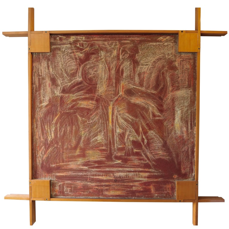 1960s Picture Frame by Ico Parisi For Sale