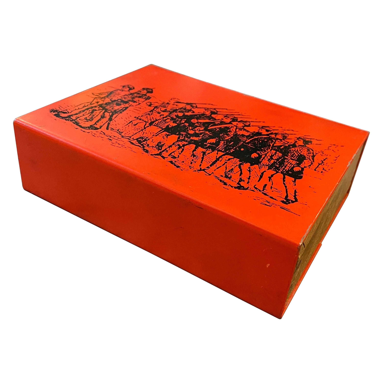 1960s Piero Fornasetti Mid-Century Modern Cigarette Box