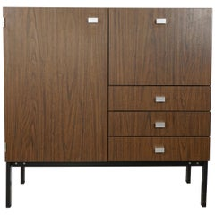 1960s Pierre Guariche Design Storage Cabinet for Meurop