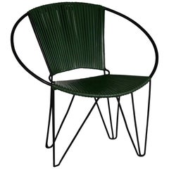 1960s Plastic and Wire Chair
