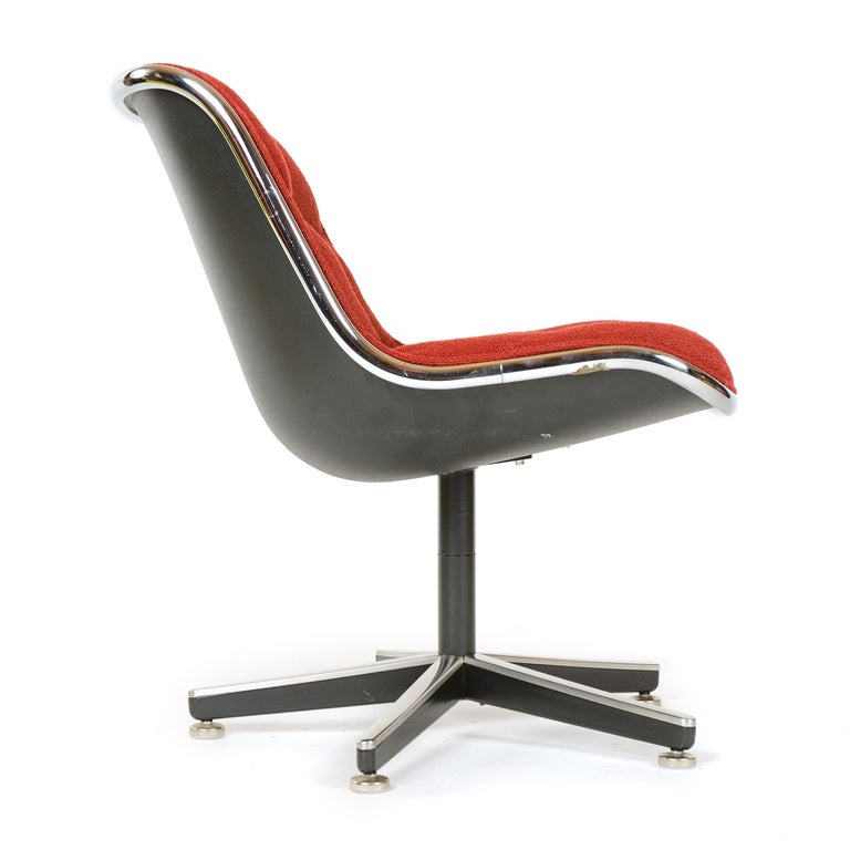 Mid-Century Modern 1960s Pollack Executive Chair by Charles Pollack for Knoll For Sale