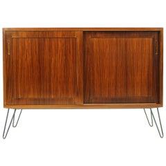 1960s Poul Hundevad Palisander Upcycled Cabinet, Denmark