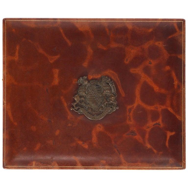 1960s Providentiae Memor Cigar Box For Sale