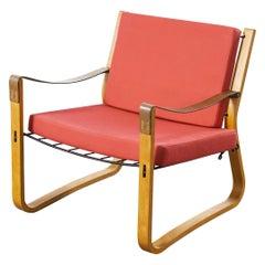 1960s Race Flexible Chair, Armchair, Nicholas Frewing, Race Furniture