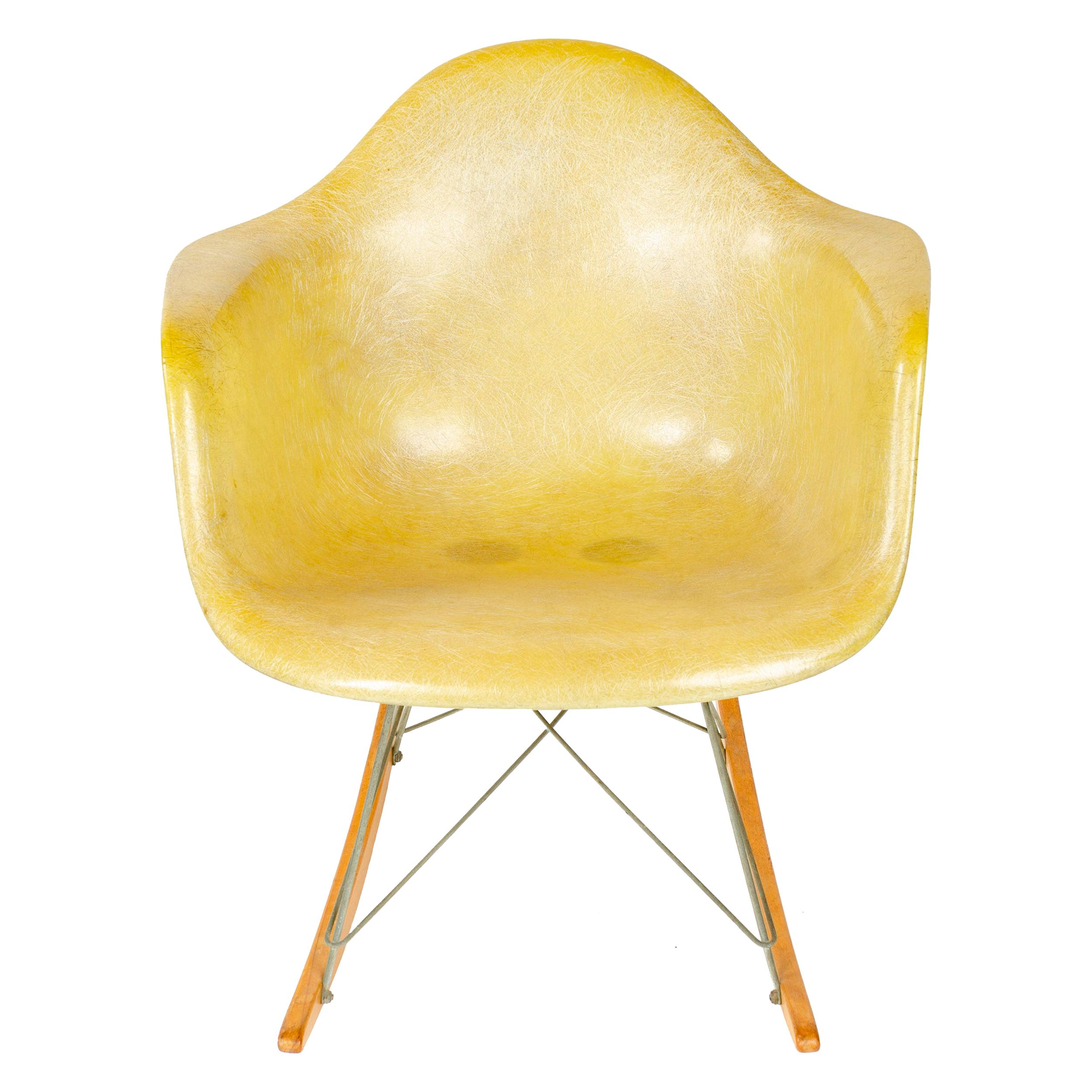 1960s RAR Rocking Chair by Charles & Ray Eames for Herman Miller