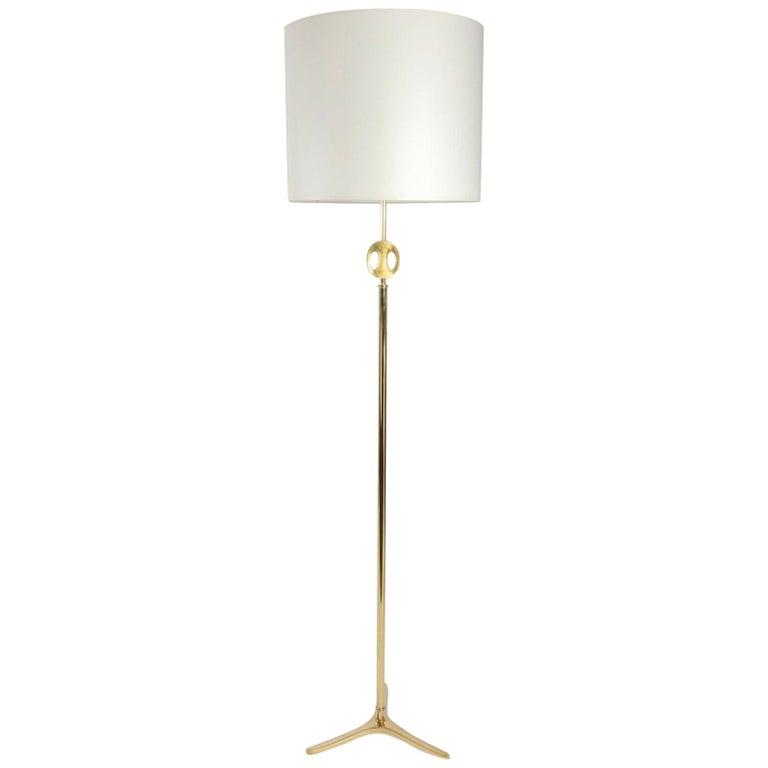 1960s Ricardo Scarpa Bronze Floor Lamp