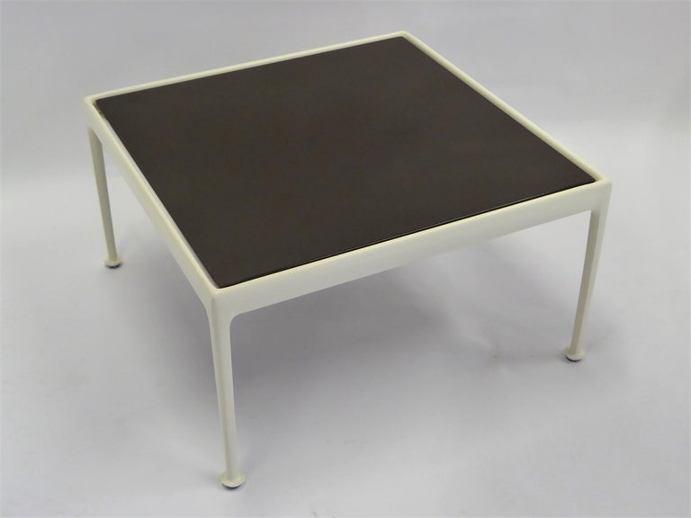 Mid-Century Modern 1960s Richard Schultz for Knoll Coffee Side Table in Brown For Sale