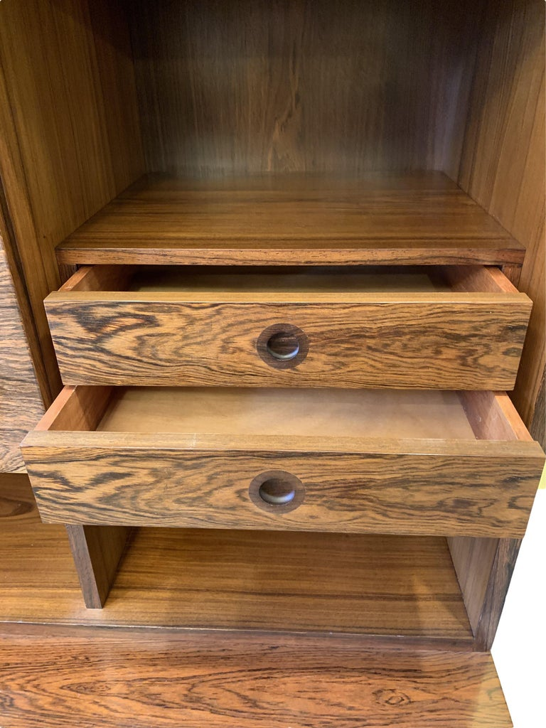 20th Century 1960s Robert Heritage for Archie Shine Rosewood Wall Unit for Heals British Made For Sale