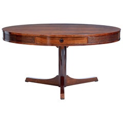1960s Robert Heritage Palisander Drum Table by Archie Shine