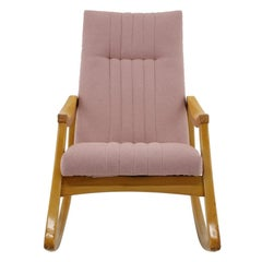1960s Rocking Chair by TON, Czechoslovakia