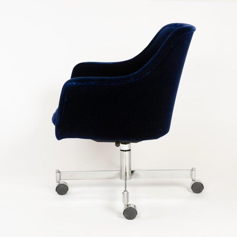 American 1960s Rolling Desk Chair by Ward Bennett for Brickel Associates For Sale