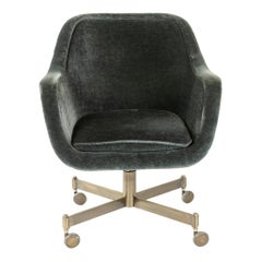 1960s Rolling Desk Chair by Ward Bennett for Brickel Associates