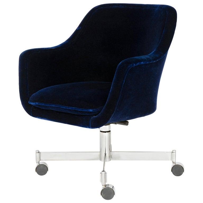 1960s Rolling Desk Chair by Ward Bennett for Brickel Associates For Sale