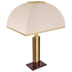 1960s Romeo Rega Brass Table Lamp, Italia