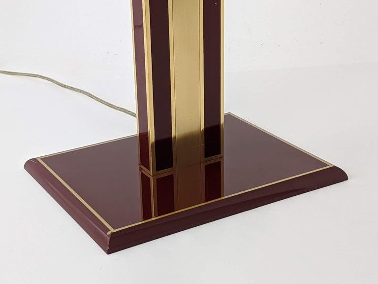 1960s Romeo Rega Massive Brass Floor Lamp, Italia For Sale 4