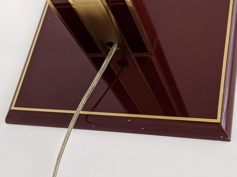 1960s Romeo Rega Massive Brass Floor Lamp, Italia For Sale 5