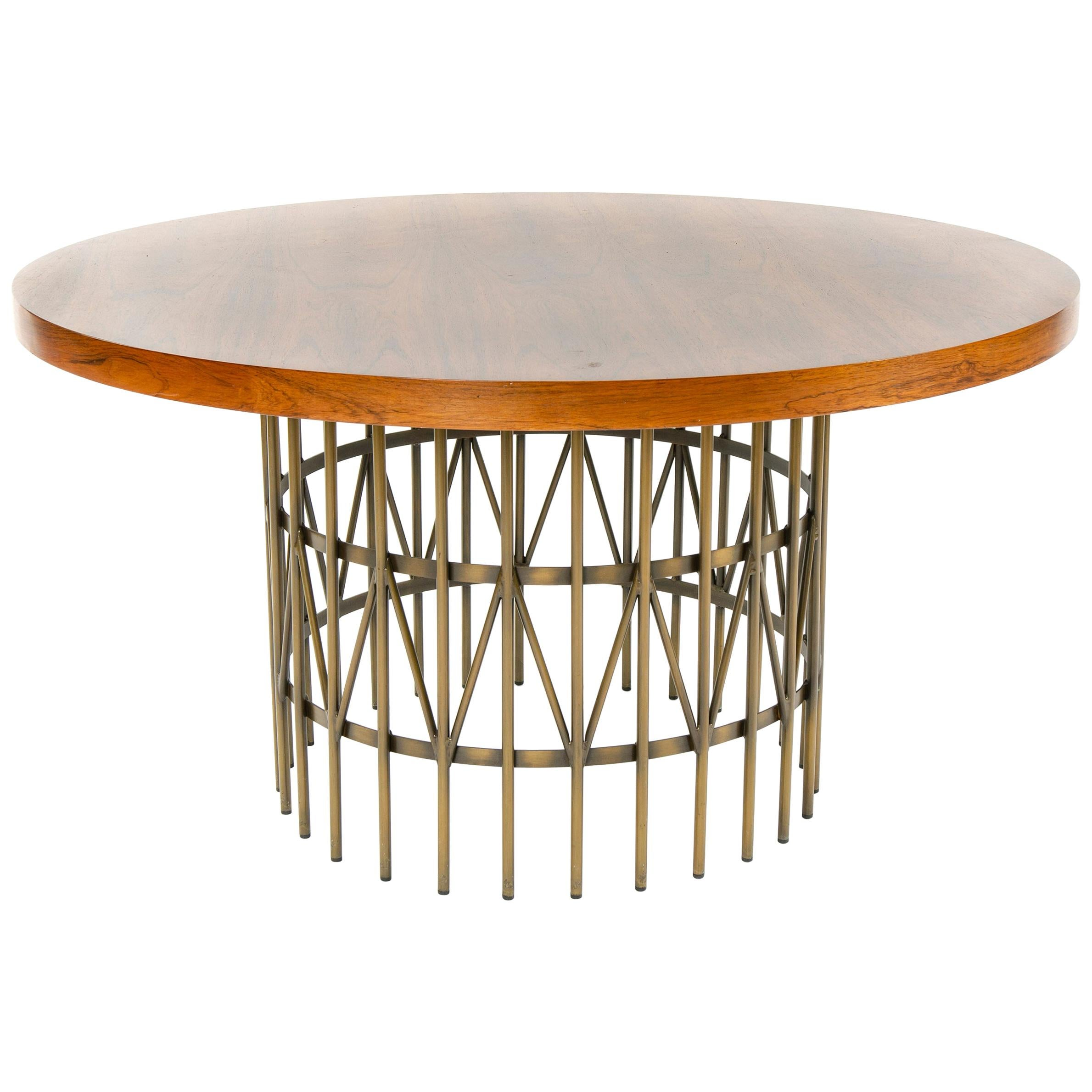 1960s Rosewood Cocktail Table by Milo Baughman for Thayer Coggin