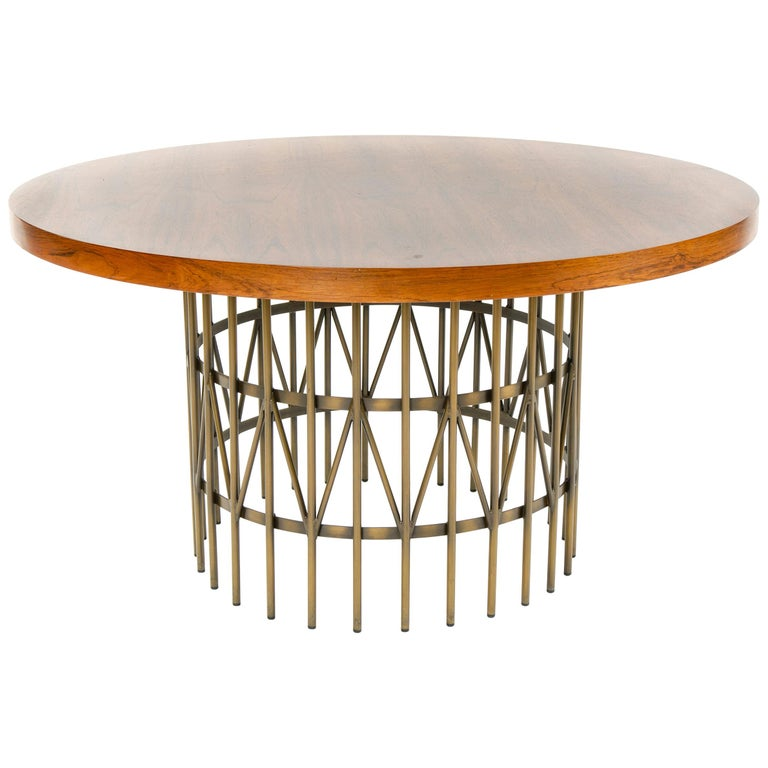 1960s Rosewood Cocktail Table by Milo Baughman for Thayer Coggin For Sale
