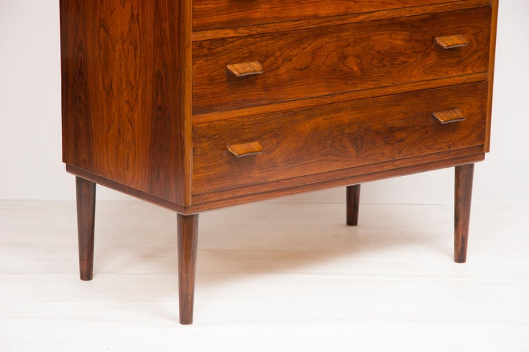 1960s Rosewood Danish Chest of Drawers by Poul Volther For Sale 2