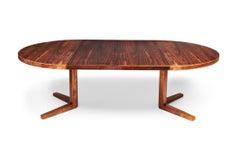 1960's rosewood extending dining table by Mortensen for Heltborg Møbler