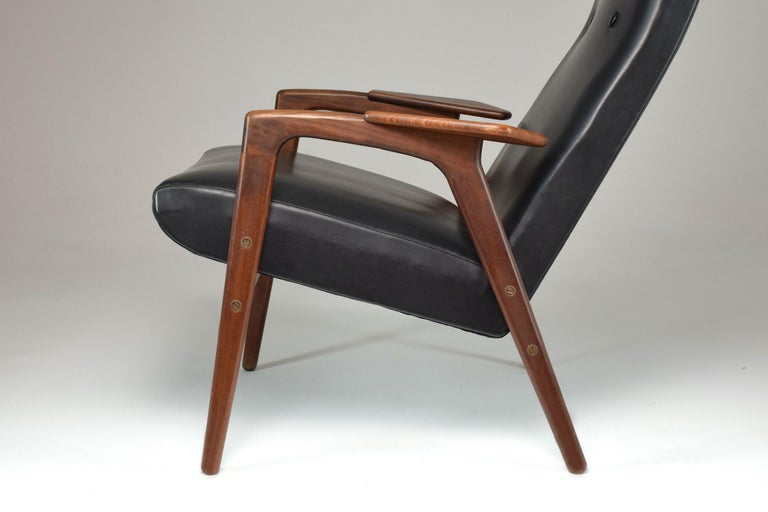 1960's Ruster Lounge Chair by Yngve Ekström for Pastoe For Sale 3