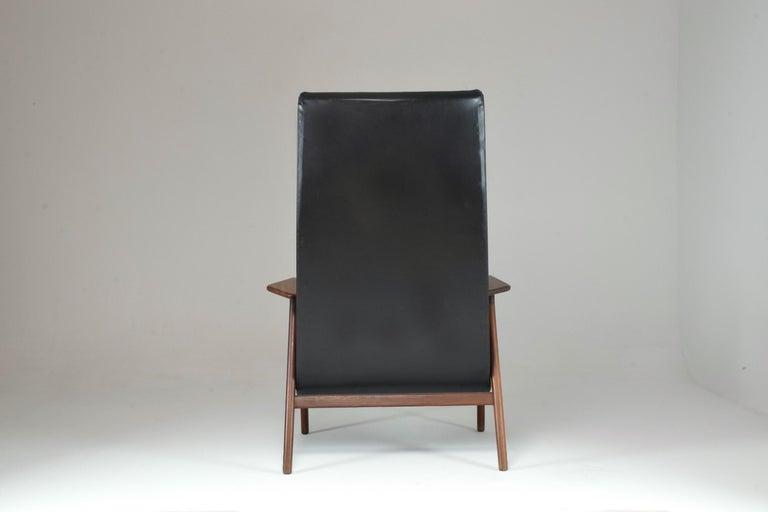1960's Ruster Lounge Chair by Yngve Ekström for Pastoe For Sale 4