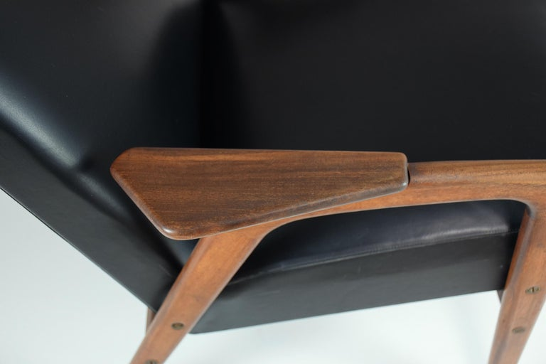 1960's Ruster Lounge Chair by Yngve Ekström for Pastoe For Sale 6