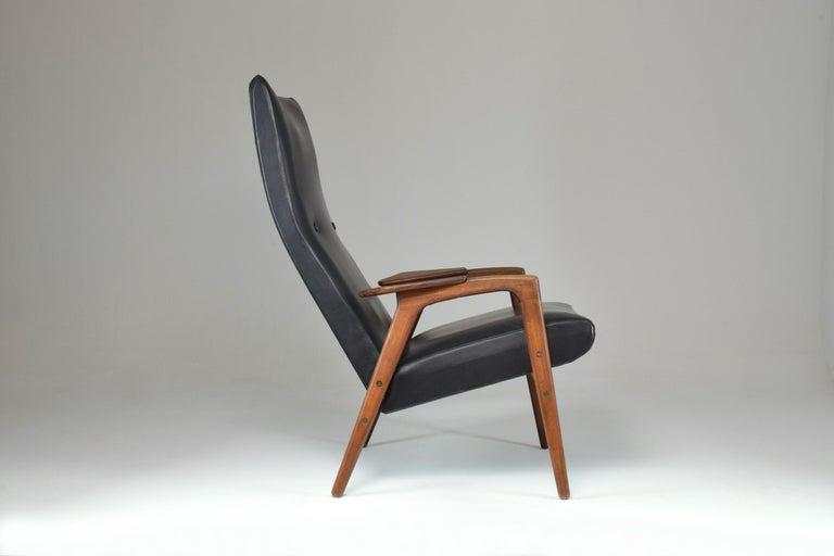 Dutch 1960's Ruster Lounge Chair by Yngve Ekström for Pastoe For Sale