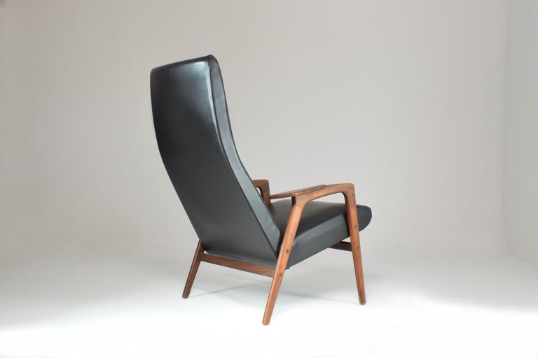 1960's Ruster Lounge Chair by Yngve Ekström for Pastoe In Good Condition For Sale In Paris, FR