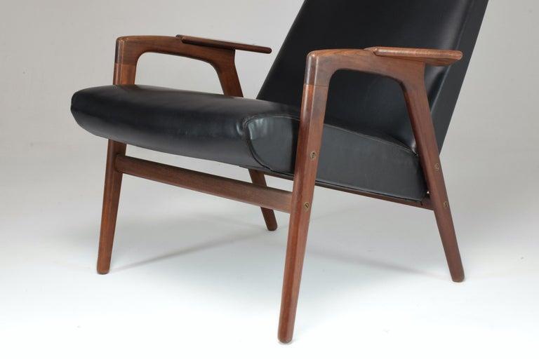 1960's Ruster Lounge Chair by Yngve Ekström for Pastoe For Sale 1