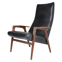 1960's Ruster Lounge Chair by Yngve Ekström for Pastoe