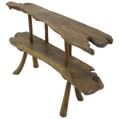 1960s Rustic Console Table