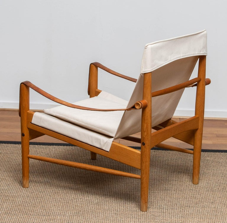 1960s, Safari Lounge Chair by Hans Olsen for Viska Möbler in Kinna, Sweden 1