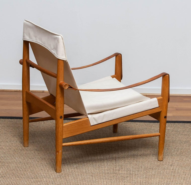 1960s, Safari Lounge Chair by Hans Olsen for Viska Möbler in Kinna, Sweden 3