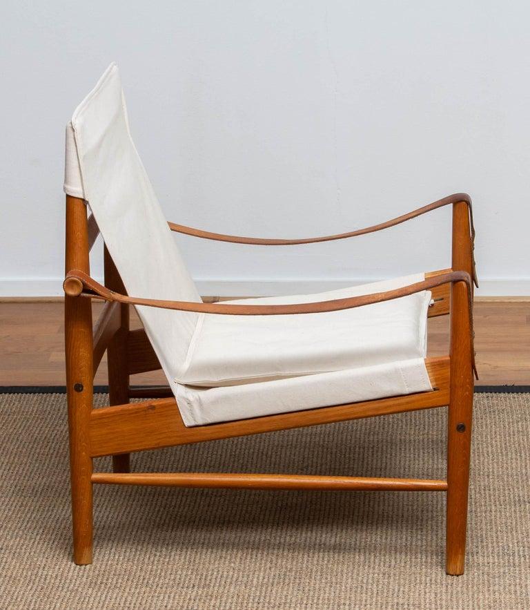 Swedish 1960s, Safari Lounge Chair by Hans Olsen for Viska Möbler in Kinna, Sweden 1960s