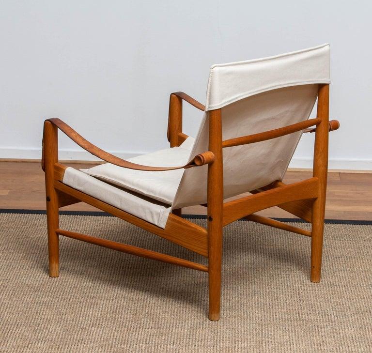 1960s, Safari Lounge Chair by Hans Olsen for Viska Möbler in Kinna, Sweden 1960s In Good Condition In Silvolde, Gelderland