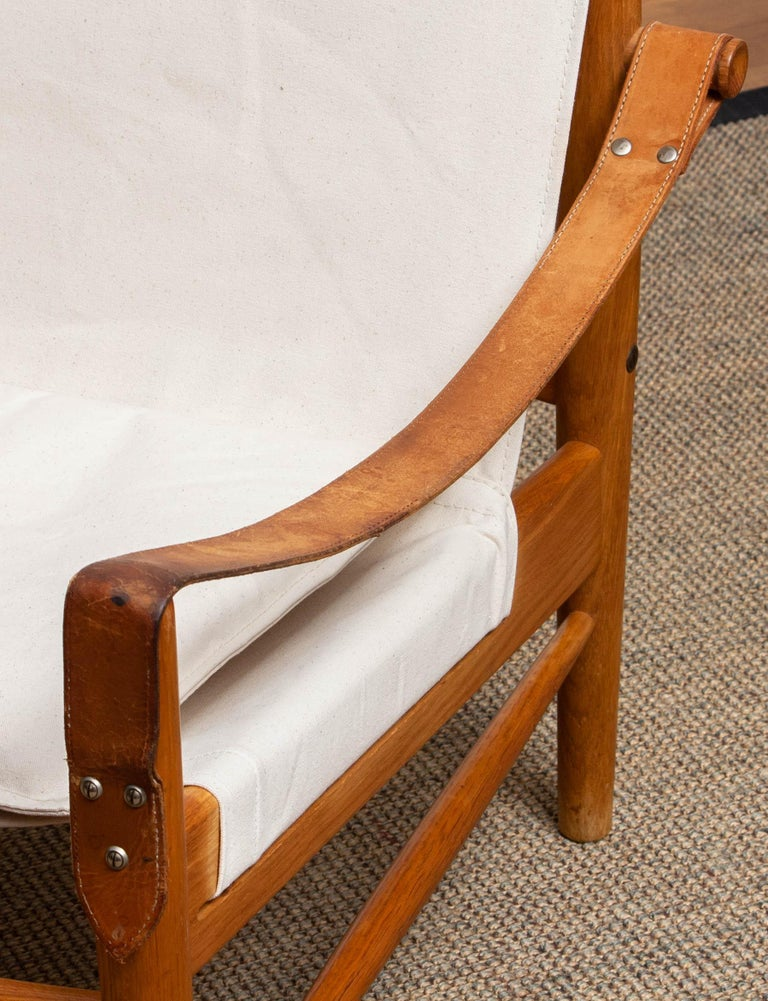 1960s, Safari Lounge Chair by Hans Olsen for Viska Möbler in Kinna, Sweden 1960s 1