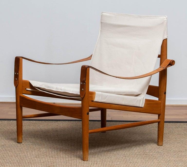 1960s, Safari Lounge Chair by Hans Olsen for Viska Möbler in Kinna, Sweden 1960s 2